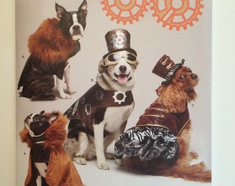Steampunk Dog Clothes Pattern Simplicity 1031