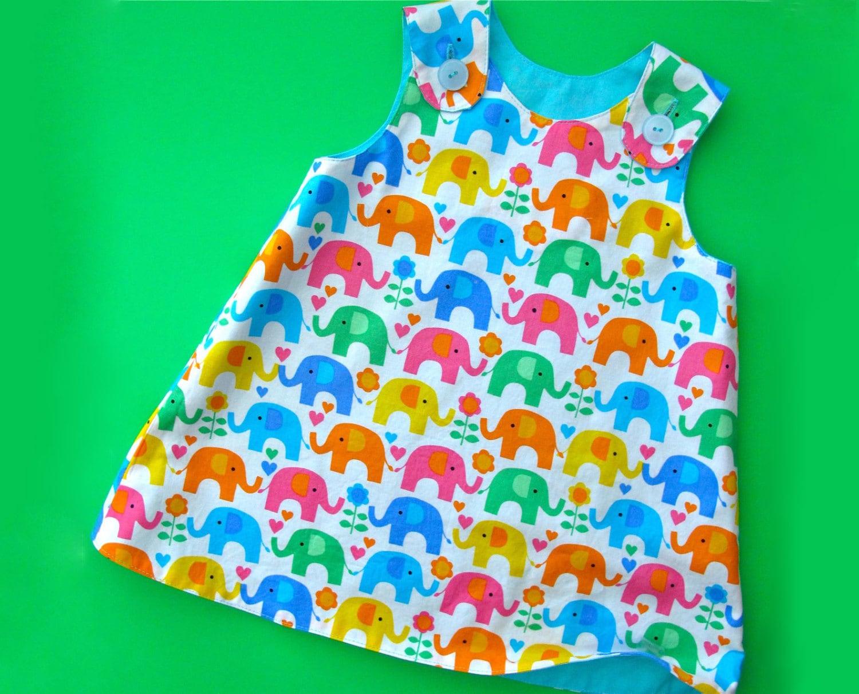 Reversible Baby Dress Pattern Pdf The Perfect A Line Dress