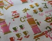 Cafe Espresso - Vintage Fabric - 1 yd