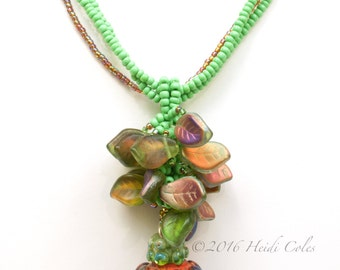 102 Seed Pod Necklace