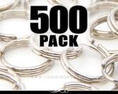 8mm Split Rings. Perfect match for Bottle Caps. 500 Pack