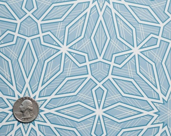 Wrapping Paper -- Snowflake Patterned Paper -- pattern 1