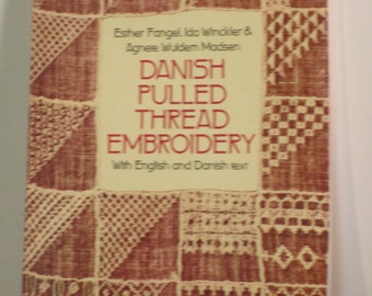 Danish Pulled Thread Embroidery book