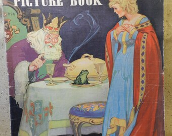 Fairy Tales linen children's picture book