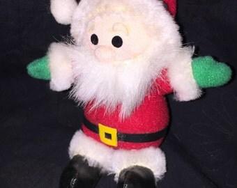 Vintage Stuffed Santa