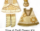KIT Size 4: Doll Dress Clothing Kit Industrial Chic for Neo Blythe and similar dolls