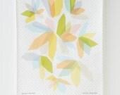 Light Crystals Tea Towel
