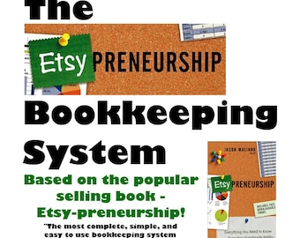 Bookkeeping Spreadsheet for Etsy Sellers - The Etsy-preneurship Bookkeeping System