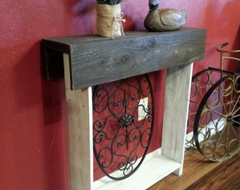 Thin Console Table. Skinny Entryway Table. Any color. Entry Wall Table. Small Runner. Rustic Furniture. Reclaimed Wood Furniture. 30x6x30