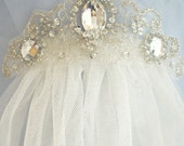 Weddings, Wedding Veil, Bridal Veil, Veils, Ivory Veil, White Veil, English Bridal Veil Netting, Wedding Accessories