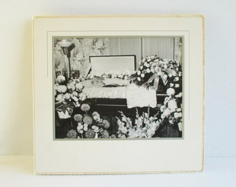 "Vintage Post Mortem Photograph - Mother ""Bertha"""