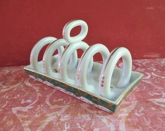 Vintage Royal Paris Ceramic Toast Holder