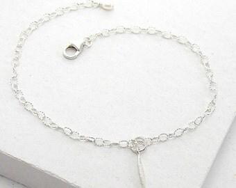 Tiny Spike Bracelet | Delicate Everyday Bracelet | Stacking Bracelet | Tiny Charm | Minimalist | Sterling Silver