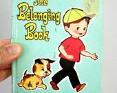 1968 The Belonging Book A Whitman Tiny Tot Tale