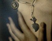 Milagro Necklace Rustic, folklore, Talisman, Good luck Charm, Day of The Dead