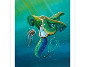 Limited Edition - Uncharted Waters - Signed 8x10 Semi Gloss Print (5/10)