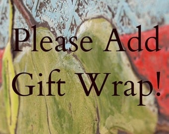 Gift Wrap Add on for Romy & Clare Pottery Purchase