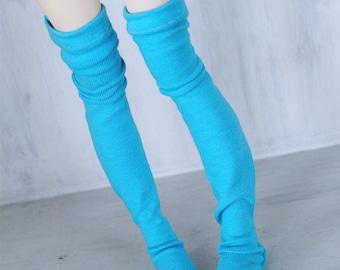 Doll BJD MSD Minifee clothes Aqua thigh high socks MonstroDesigns
