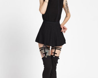 Simone Knee High Sock Garters 1/2 inch