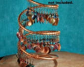 Copper Earring Holder, Earring Display,  XL Jewelry Display JD300 by CC Design