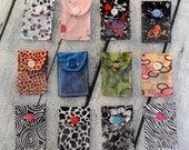 Knitting or Crochet Stitch Marker Pouch