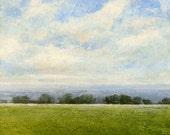 LANDSCAPE Oil Painting Original Art by J Shears