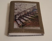 Savannah Stairs - canvas travel journal