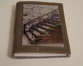 Savannah Stairs - canvas travel journal
