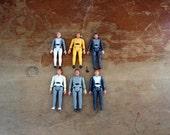 vintage 1979 Star Trek Mego Set of 6 Action Figures // Spock Kirk Ilia McCoy Scotty Decker