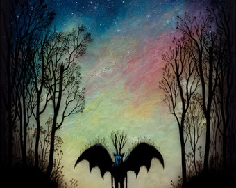 Young is the Night - Print