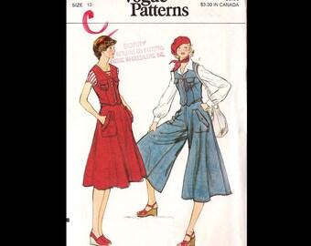 Vogue Misses Vest, Skirt and Pantskirt Pattern 9409 UNCUT
