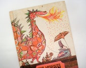 The Laughing Dragon - hardback children's book - 1970