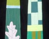 Reversible Modern Clergy Stole|  Green  Ordinary Times Graduation Gift