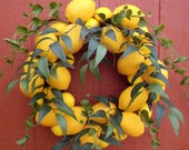 Lemon to Lemon Wreath Junior....