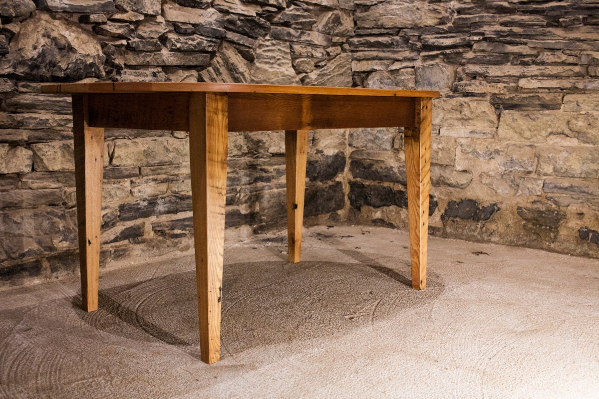 The Guesthouse Reclaimed Antique Pine Oval Dining Table