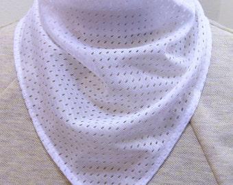 sports jersey  mesh bandana scarves - trach tube stoma cover