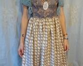 Woodland Crocheted Capelet... boho whimsical wedding formal bridal shawl wrap fairy woodland cloak shrug coverup