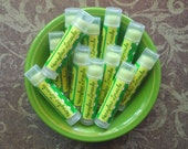 Honeydew Limeade Vegan Lip Balm - Limited Edition End of Summer Flavor - Honeydew Melon, Sweet Lime, and Spearmint