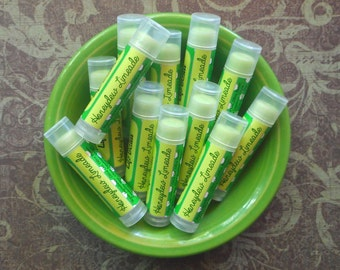 Honeydew Limeade Vegan Lip Balm - Limited Edition End of Summer Flavor - Honeydew Melon, Sweet Lime, and Spearmint