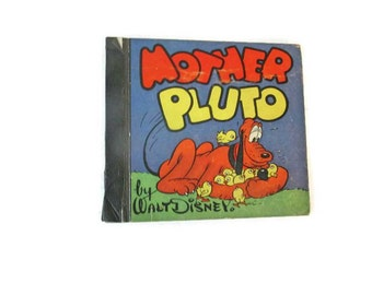 Mother Pluto - 1939 Walt Disney - Very rare