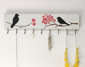 Jewelry Board/ Jewelry Hanger/ Birds