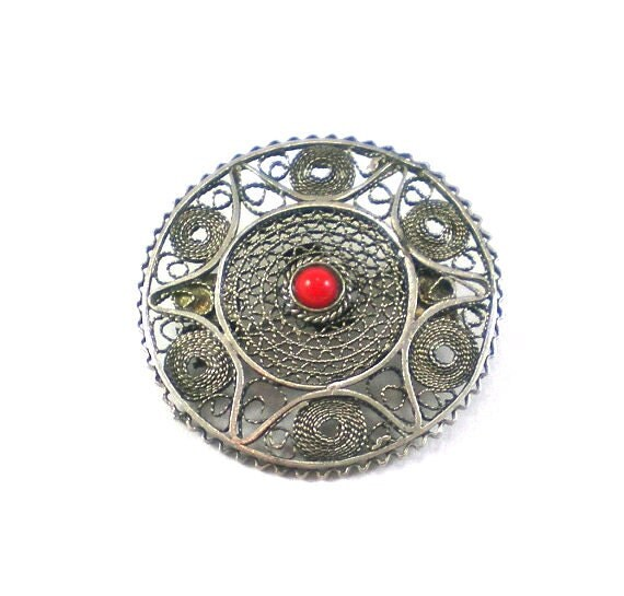 how to clean a sterling silver brooch