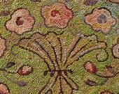 Fluted Vase rug hooking patterns