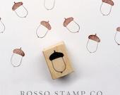 Acorn Stamp - Autumn Stamp - Fall Stamp
