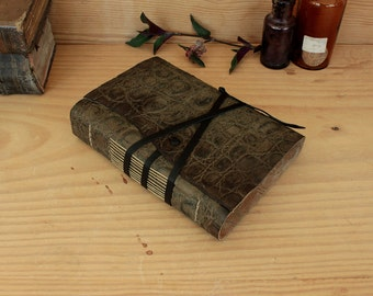 Antiqued Leather Journal, The Old Reptile