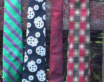 Collection of 4 Vintage Ties
