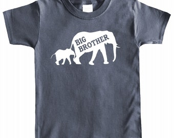 Big Brother Elephant Toddler T-shirt