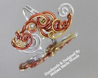 Loop - Tastic Ear Cuffs - Tri Color