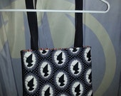 Witch Silhouette Tote Purse - Halloween - Spooky Girls Club - Ghoul - Zombie - October 31