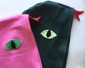 Pink Snake Cape, Lizard Cape, Halloween Costume or Dress Up Cape, Kids Halloween Costume